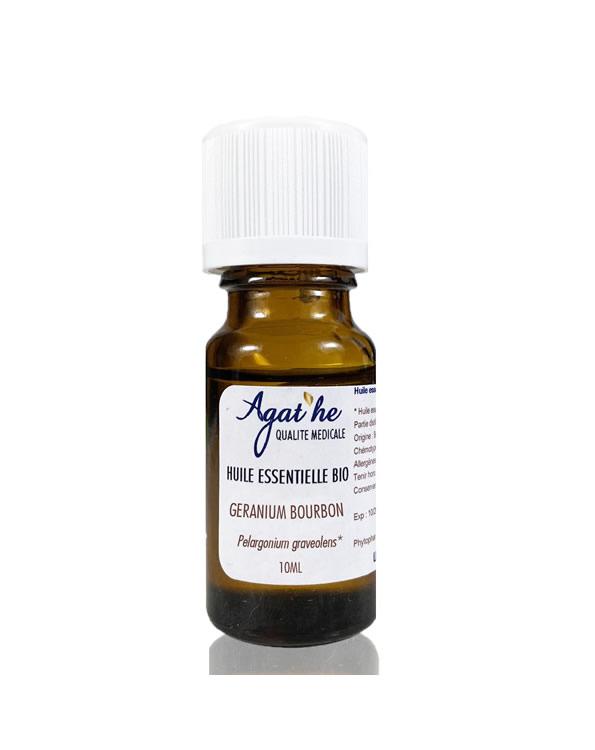 Huile essentielle de géranium bourbon bio