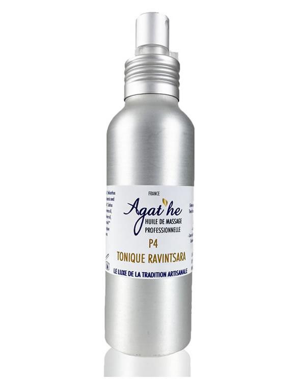 Huile de massage 100% naturel pour un massage tonique